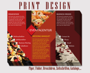 Flyer Design, Printdesign, Cocolango