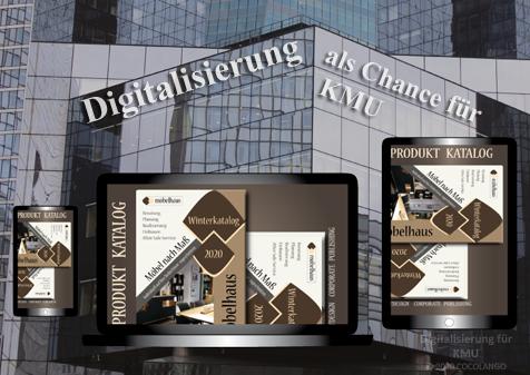 Webdesign, Digitalisierung als Chance für KMU - Cocolango