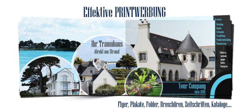 Flyer Design, Printwerbugn, Printdesign